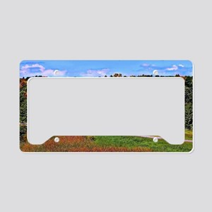 Country Perks License Plate Holder