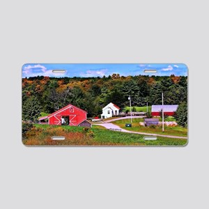 Country Perks Aluminum License Plate