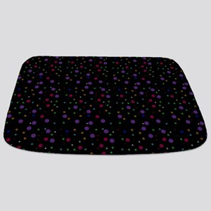 Retro Polka Dots Bathmat