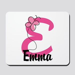 Personalized Monogram Letter E Mousepad