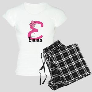 Personalized Monogram Lette Women's Light Pajamas