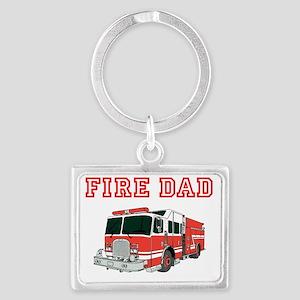 Fire Dad Keychains