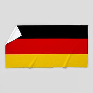 Flag of Germany Beach Towel