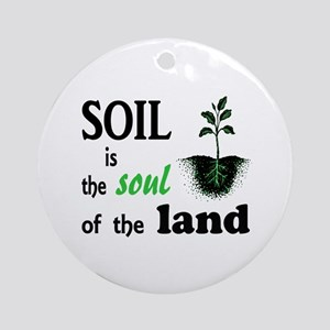 Soul of the Land Ornament (Round)