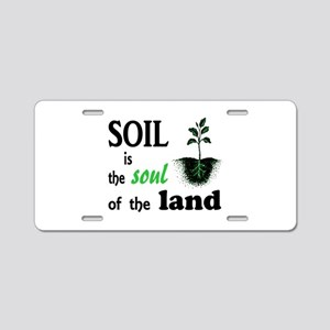 Soul of the Land Aluminum License Plate