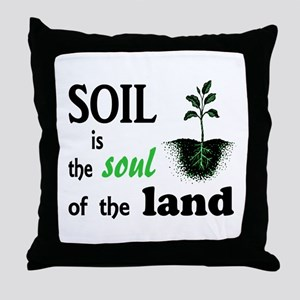 Soul of the Land Throw Pillow