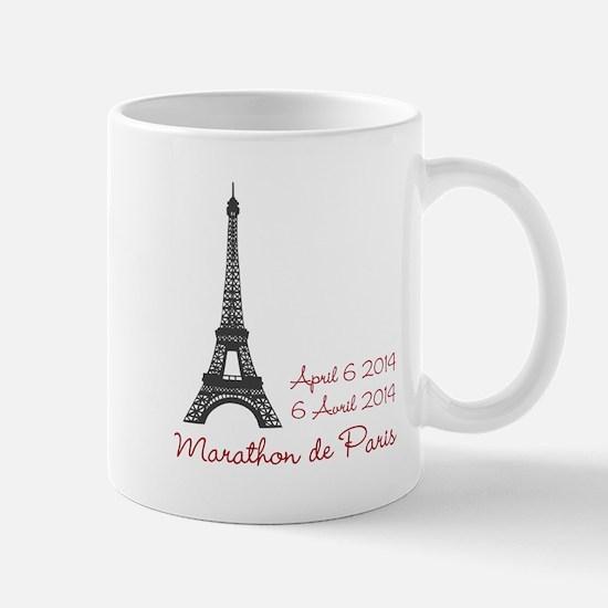 Paris Marathon Mugs