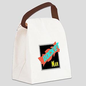 Rocket Man/Elton john Canvas Lunch Bag