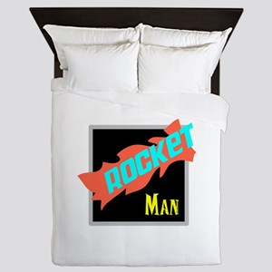 Rocket Man/Elton john Queen Duvet