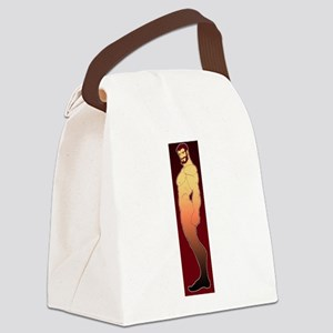 dude Canvas Lunch Bag