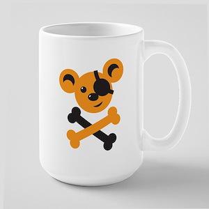 Pirate teddy bear cute Mugs