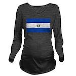 El Salvador Long Sleeve Maternity T-Shirt