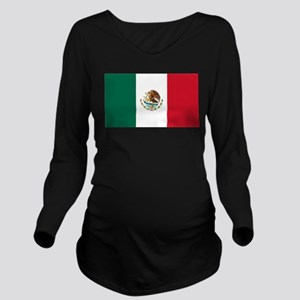 Mexico Long Sleeve Maternity T-Shirt