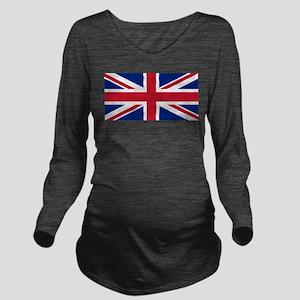 United Kingdom Long Sleeve Maternity T-Shirt