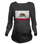 California Long Sleeve Maternity T-Shirt