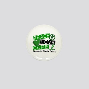 Peace Love Cure 1 TBI Mini Button