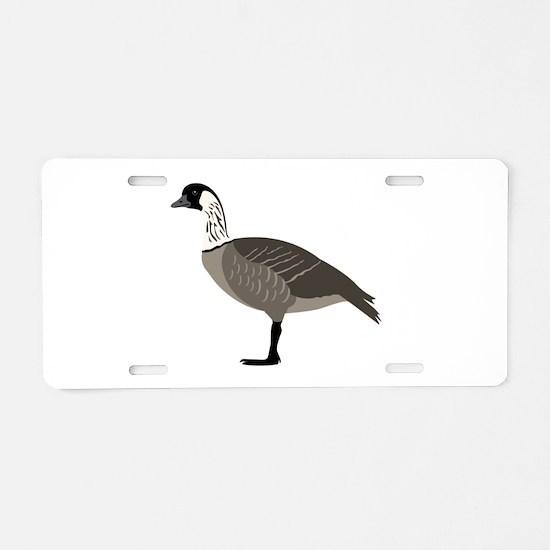 Nene Goose Aluminum License Plate