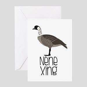 Nene Xing Greeting Cards