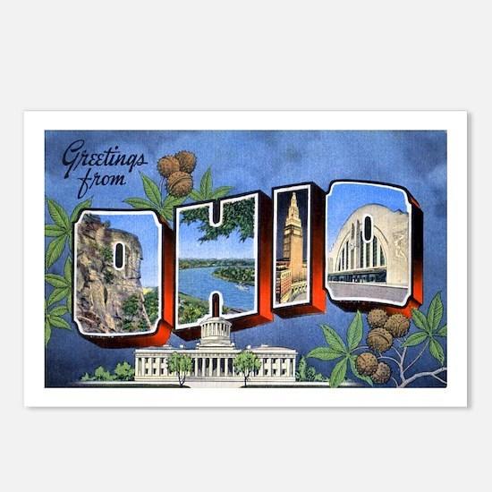 Ohio Greetings Postcards (Package of 8)
