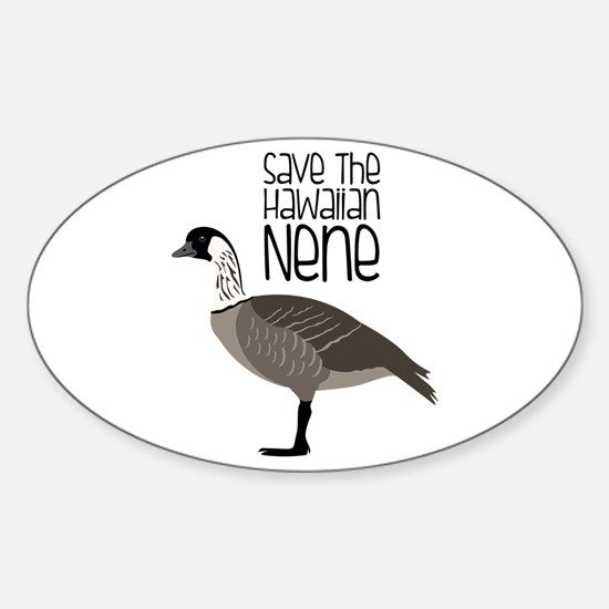 Save the Hawaiian NENE Decal