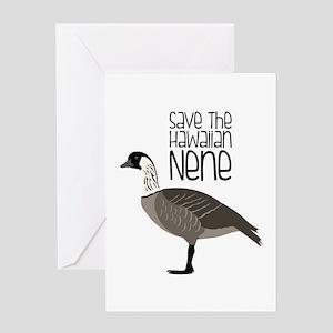 Save the Hawaiian NENE Greeting Cards
