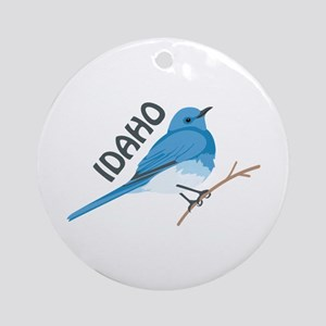 IDAHO Ornament (Round)