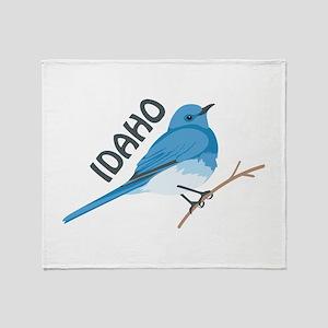 IDAHO Throw Blanket