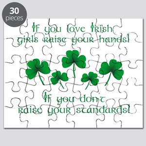 Raise Your Hands for Irish Girls Puzzle
