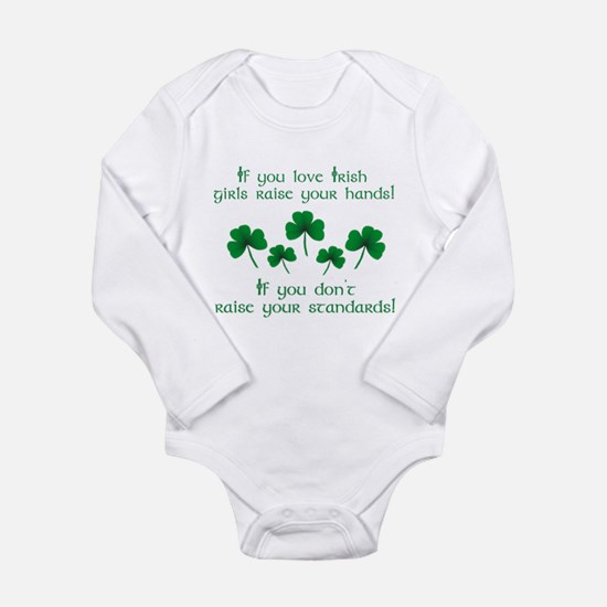 Raise Your Hands for Irish Girls Body Suit