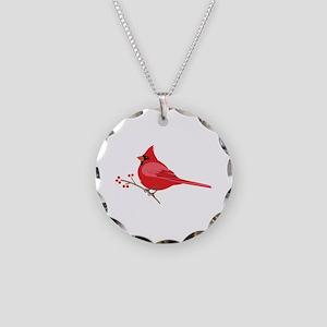 Northern Cardinal Necklace