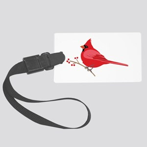 Northern Cardinal Luggage Tag