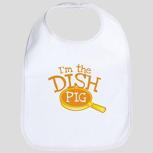 Im the Dish pig (Kitchen hand cleaner) Bib