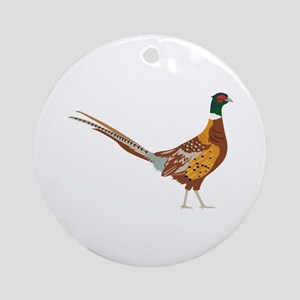 Ring-Necked Pheasant Ornament (Round)