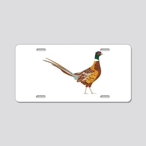 Ring-Necked Pheasant Aluminum License Plate