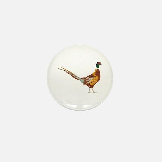 Ring-Necked Pheasant Mini Button