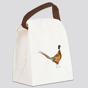 Ring-Necked Pheasant Canvas Lunch Bag