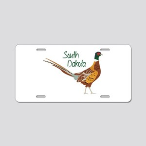 South Dakota Aluminum License Plate