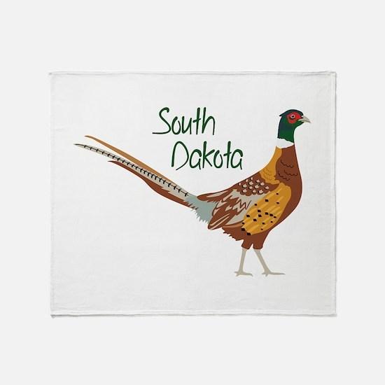 South Dakota Throw Blanket