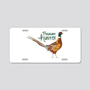 PheasaNt huNteR Aluminum License Plate