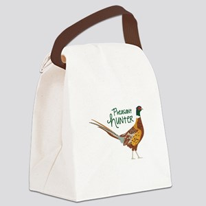 PheasaNt huNteR Canvas Lunch Bag