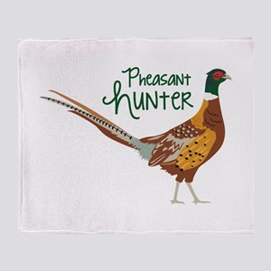 PheasaNt huNteR Throw Blanket