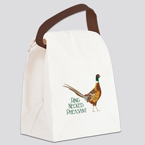 RING NECKED PHEASANT Canvas Lunch Bag