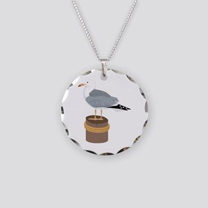 Pier Gull Necklace