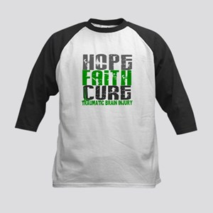 Hope Faith Cure TBI Kids Baseball Jersey