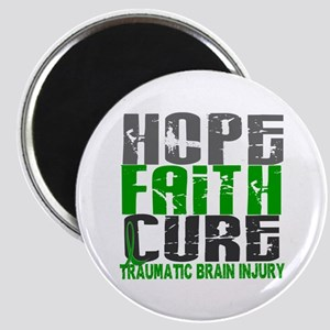Hope Faith Cure TBI Magnet