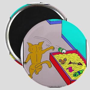 CAT LITTER BOX Magnet