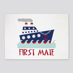 FIRST MATE 5'x7'Area Rug