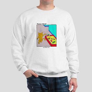 CAT LITTER BOX Sweatshirt
