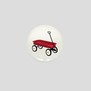 Red Wagon Mini Button