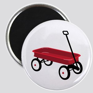 Red Wagon Magnets